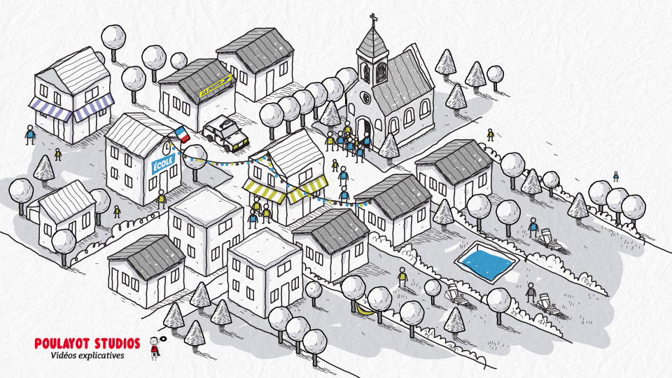video-explicative-illustration-village